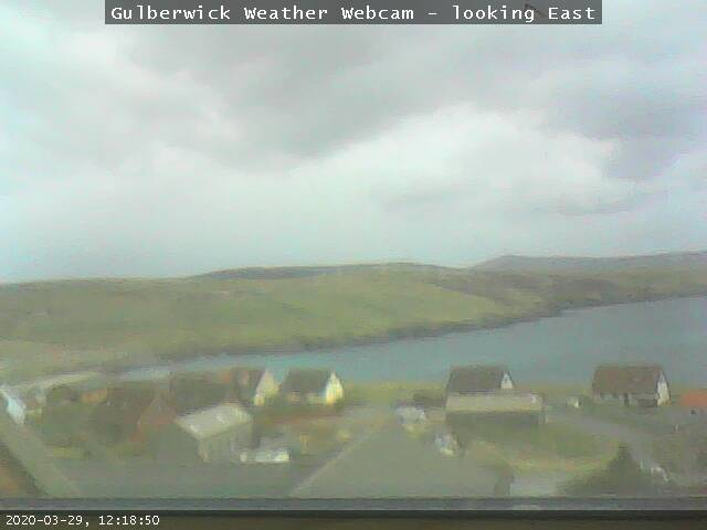 Gulberwick Weather Webcam - click for live stream